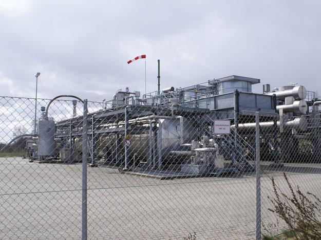 """""""Bötersen Z7"""", ExxonMobil, Horizontalbohrung mit 1 Frac, Gastrocknungsanlage"""