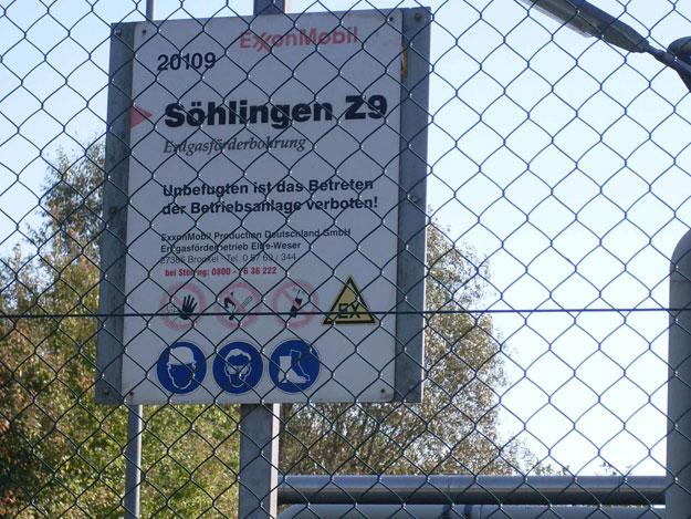 """""""Söhlingen Z9"""" /ExxonMobil, 1 Frac"""