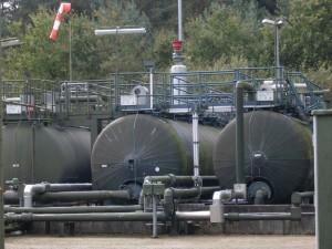 "Versenkbohrung ""Gilkenheide Z1"" /ExxonMobil, seit 1990, Versenkhorizont: 1.118 m"